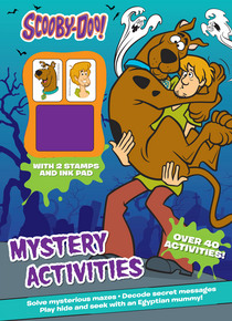 Scooby-Doo Mystery Activities with 2 Stamps and Ink Pad
