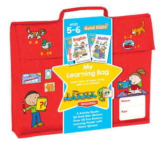 Gold Stars My Learning Bag Ages 5-6