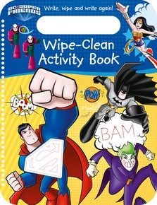 DC Super Friends Wipe-Clean Activity Book